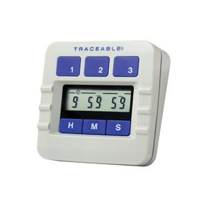TRACEABLE 5000 Alarm Timer,3 Channel