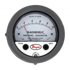 Dwyer Magnehelic Series 605 Differential Pressure Indicating Transmitter 0-1.0WC Range