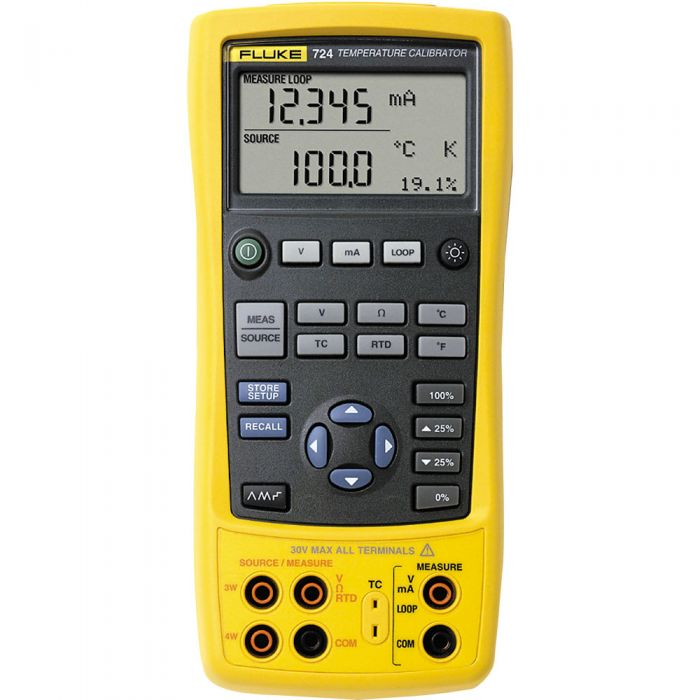 Fluke 724 Temperature & RTD Calitor | Transcat on