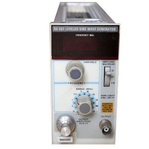 Rent Tektronix SG503 Level Sinewave Generator | Transcat
