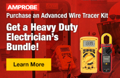 Get an Electrician's Bundle when you purchase an Advanced Wire Tracer Kit!