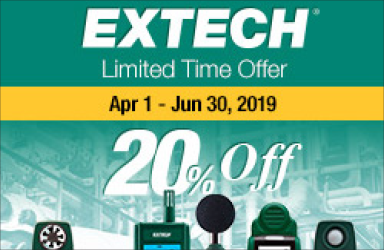 Get 20% Off Select Products from Extech!