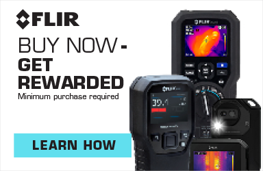 Get rewarded when you spend $200 or more on FLIR Products!
