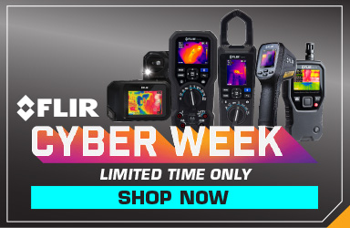 Save on Select FLIR Products during Cyber Week - Limited Time Only!