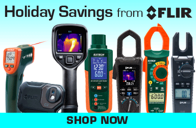 Holiday Savings from FLIR. Limited Time Only. Shop now!