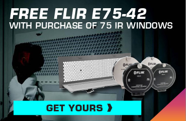 Receive a FREE E75-42 with Purchase of 75 FLIR IR Windows!