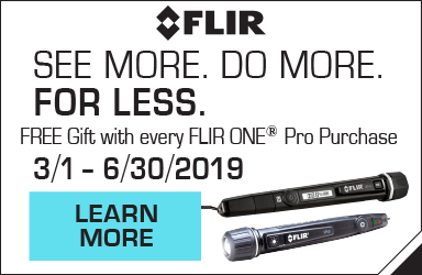 Free Gift with FLIR ONE Pro Purchase!