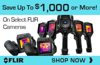Buy Select FLIR Cameras & Save Up To $1,000 or more
