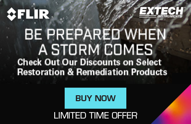 SAVE on Storm Preparedness Products from FLIR & Extech. Limited Time Offer.