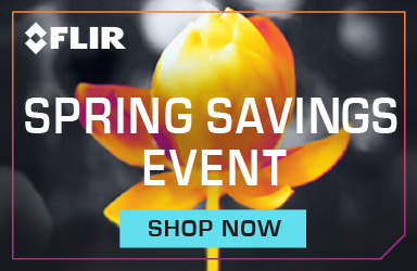 Get savings on select FLIR products this spring!