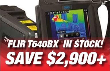 FLIR T640BX - In Stock - Save over $2,900