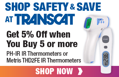 Get 5% off when you buy 5 or more PH-IR or Metris THD2FE IR Thermometers!