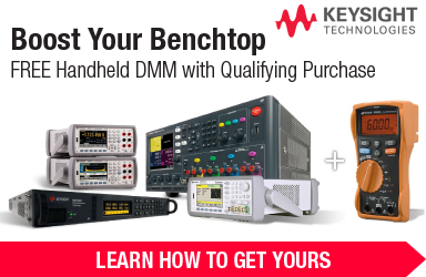 FREE Handheld DMM with Qualifying Keysight Products