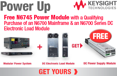 Get a FREE N6745 Module when you buy a Select N6700 Mainframe and a Select N6700 Module!