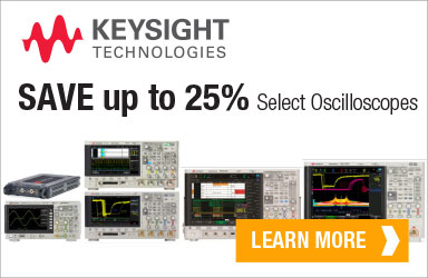 Get up to 25% off your next Keysight Scope!