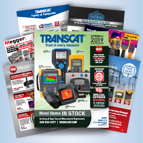 Test Equipment Catalog Registration | Transcat