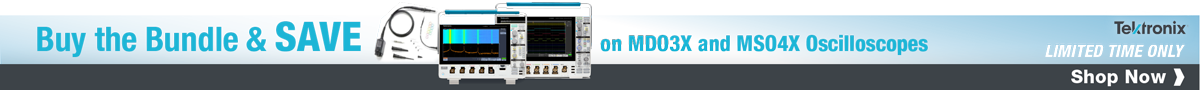 Buy the Bundle and SAVE on Tektronix MDO3x and MSO4x Oscilloscopes!