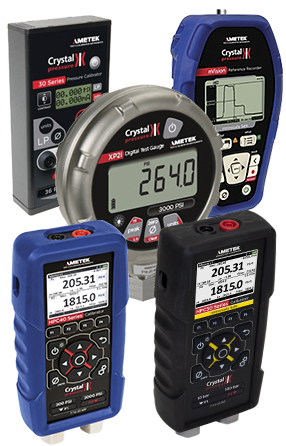 Crystal Pressure Gauges
