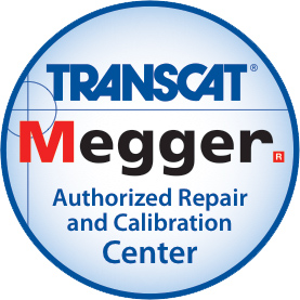 Transcat is an Authorized Megger Repair Center
