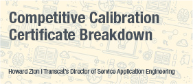 Transcat White Paper: Competitive Calibration Certificate Breakdown