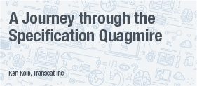 Transcat White Paper A Journey through the Specification Quagmire