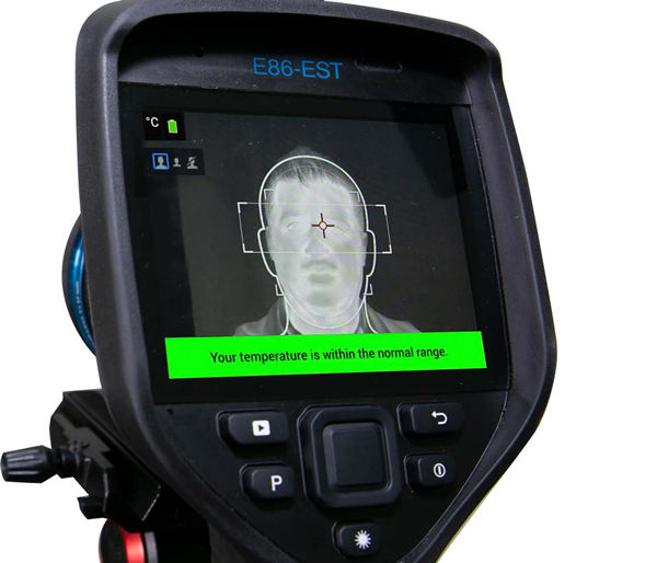 Handheld Thermal Imager EBT Screening