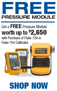 Fluke Free Pressure module with Purchase