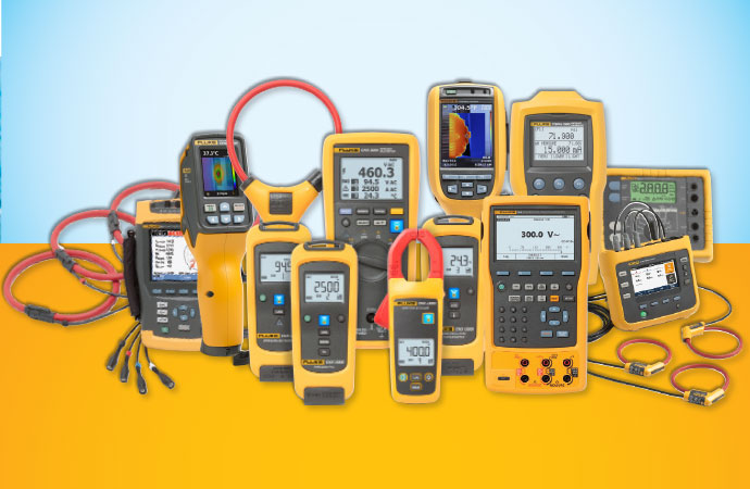 Rent Fluke Test & Measurement Instruments from Transcat