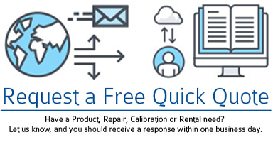 Request a Quick Quote from Transcat today!